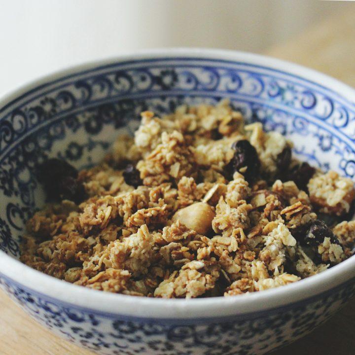 Basic Healthy Granola Recipe